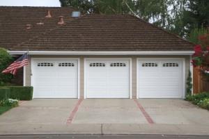 Three car garage Sherburne